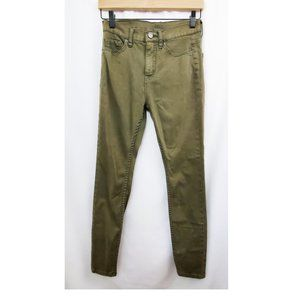 URBAN OUTFITTERS BDG High Rise Twig Olive Jean EUC